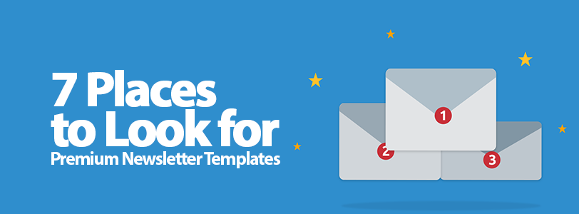 7 Places to Look for Premium Newsletter Templates